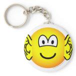 Ears emoticon Big  keychains