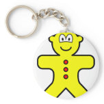 Gingerbread buddy icon   keychains