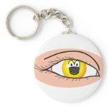 Eye emoticon   keychains