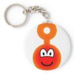 Teletubbie emoticon Po  keychains