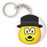 Charlie Chaplin emoticon   keychains