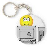 Computing emoticon   keychains