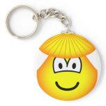 Clam emoticon   keychains