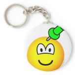 Thumbtack emoticon Drawing pin  keychains