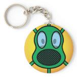 Gasmask emoticon   keychains