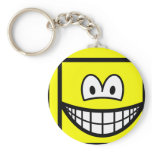 Cube smile   keychains