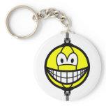Boxingball smile   keychains