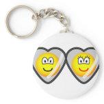 Locket emoticon   keychains