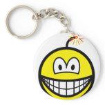Bomb smile   keychains
