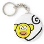 Monkey buddy icon   keychains