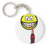 Drinking smile   keychains