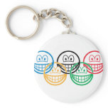 Olympic smile   keychains