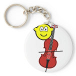 Cello playing buddy icon   keychains