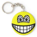 Hypnotized smile   keychains