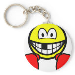Boxing smile knocked out tooth  keychains