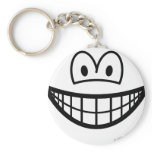 Headless smile   keychains