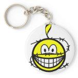 Amnesty smile   keychains