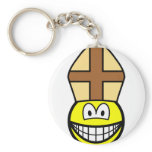 Pope smile   keychains