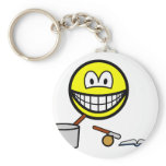 Cooking smile   keychains