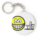 Waiter smile   keychains