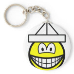 Paper hat smile   keychains