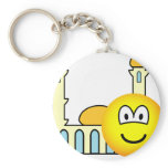 Mosque going emoticon   keychains