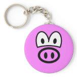 Pig smile   keychains