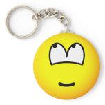 It wasn't me emoticon   keychains