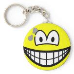 Pierced smile   keychains