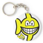 Pisces smile Zodiac sign  keychains