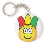 Joker/Carnival emoticon   keychains