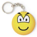 Evil emoticon   keychains