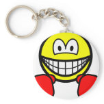 Boxing smile   keychains