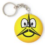 Mercedes emoticon   keychains