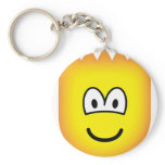 Simpson emoticon Bart  keychains
