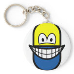 Pill smile   keychains