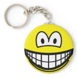 Fat smile   keychains