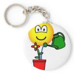 Gardener emoticon   keychains