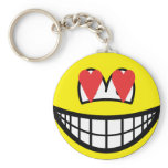 Smile in love   keychains