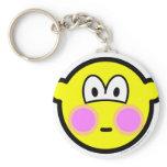 Blushing buddy icon   keychains
