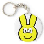 Bunny buddy icon   keychains
