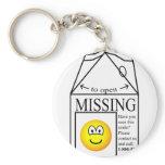 Missing emoticon   keychains