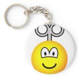 Wind up emoticon   keychains