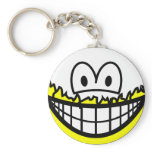 Peeled smile   keychains