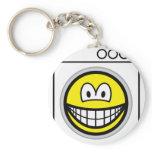 Washmachine smile   keychains