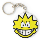 Simpson smile Lisa  keychains