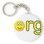 .Org emoticon   keychains