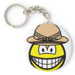 Tropical smile   keychains