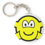 Hands in pockets buddy icon   keychains