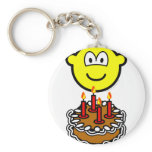 Blowing out candles buddy icon   keychains